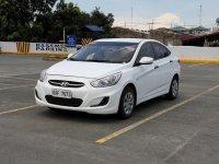 Pearl White Hyundai Accent 2018 for sale in Manila