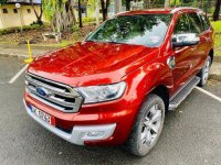 Red Ford Everest 2016 for sale in Manila