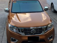 Selling Orange Nissan Navara 2016 in Cebu City