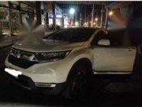 Sell White 2018 Honda Cr-V in Bauan