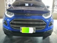 Selling Blue Ford Ecosport 2016 in Quezon