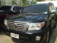 Selling Black Toyota Land Cruiser 2015 in Caloocan