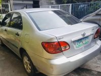 Silver Toyota Corolla Altis 2003 for sale in Quezon