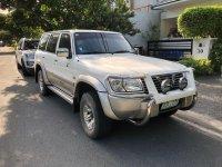 Selling White Nissan Patrol 2003 in Muntinlupa