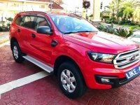 Red Ford Everest 2016 for sale in Mandaluyong
