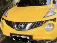 Yellow Nissan Juke 2018 for sale in Caloocan