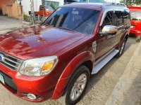 Red Ford Everest 2013 for sale in Cebu