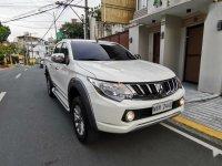 White Mitsubishi Strada 2018 for sale in Lipa