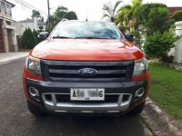Selling Orange Ford Ranger 2015 in Quezon