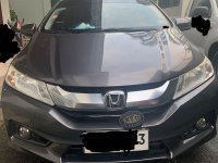 Silver Honda City 2014 for sale in Quezon