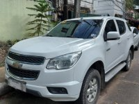 White Chevrolet Trailblazer 2016 for sale in Quezon