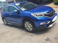 Blue Honda CR-V 2016 for sale in Manila
