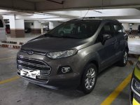 Silver Ford Ecosport 2014 for sale in Parañaque