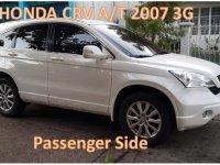 White Honda CR-V 2007 for sale in Las Piñas
