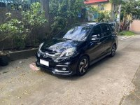 Black Honda Mobilio RS 2016 for sale in Quezon