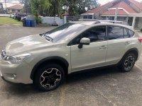Beige Subaru XV 2014 for sale in Quezon