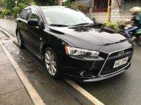 Selling Black Mitsubishi Lancer 2014 in Batangas
