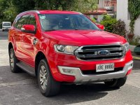 Red Ford Everest Trend 2016 for sale in Las Pinas