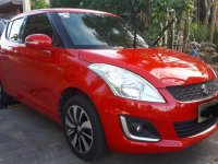 Red Suzuki Swift 2016 for sale in Las Pinas