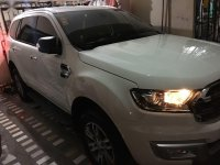 White Ford Everest Trend 2016 for sale in Quezon