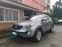 Selling Silver Kia Sportage 2013 in Pasig