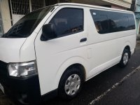 Selling White Toyota Hiace 2016 in Surigao