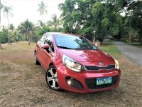 Red Kia Rio 2013 for sale in Silang