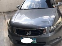 Silver Honda Accord 2010 for sale in Quezon
