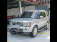 Selling Brightsilver Land Rover Discovery 4 2010 in Quezon