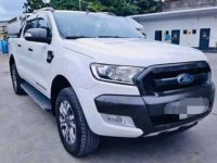 White Ford Ranger Wildtrak 2017 for sale in Aglipay