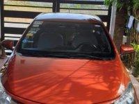 Selling Orange Toyota Vios 2015 in Bacoor