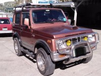 Selling Red Suzuki Jimny 2003 in Baguio