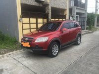 Red Chevrolet Captiva 2009 for sale in Pasig