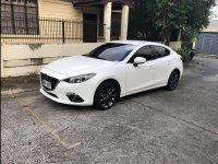 Selling White Mazda 3 2015 in Santo Tomas