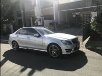 Selling Brightsilver Mercedes-Benz C-Class 2013 in Muntinlupa