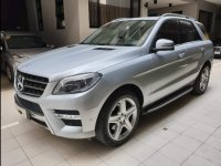 Brightsilver Mercedes-Benz ML-Class 2014 for sale in Quezon