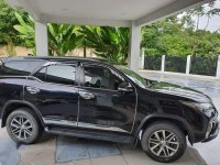 Black Toyota Fortuner 2017 for sale in Cebu