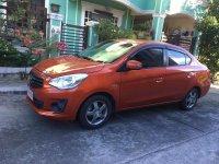 Selling Orange Mitsubishi Mirage 2019 in Manila