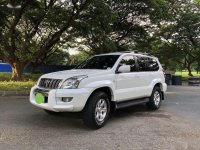White Toyota Land Cruiser Prado 2008 for sale in Las Pinas