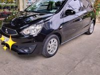 Selling Black Mitsubishi Mirage 2019 in San Jose del Monte