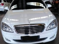 White Mercedes-Benz S-Class 2008 for sale in Cebu
