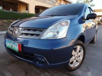 Blue Nissan Grand Livina 2010 for sale in Manila