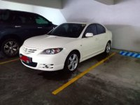 White Mazda 3 2017 for sale in Taguig