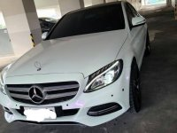 Selling Pearlwhite Mercedes-Benz C200 2015 in Quezon