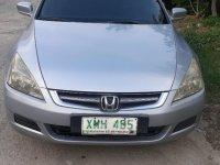 Brightsilver Honda Accord 2004 for sale in Cabanatuan