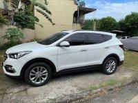 White Hyundai Santa Fe 2016 for sale in Pasig