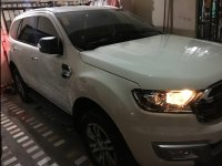 Selling White Ford Everest 2016 in Quezon