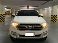 Selling White Ford Everest 2018 in Taguig