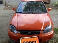 Selling Orange Honda Civic 2000 in Lipa