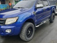 Blue Ford Ranger 2013 for sale in Lipa